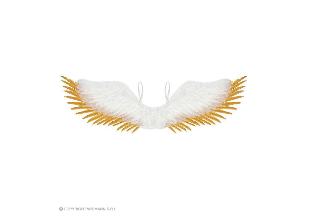 Engelen vleugels wit met goud