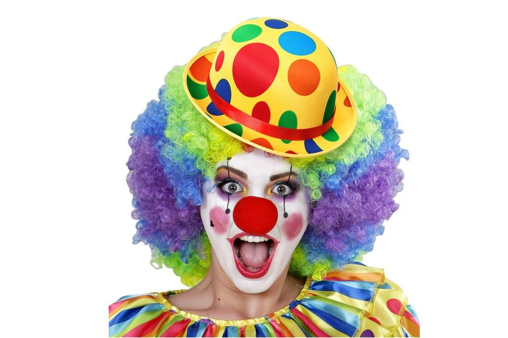 bolhoed clown met noppen