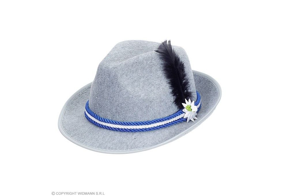 beierse hoed met edelweiss
