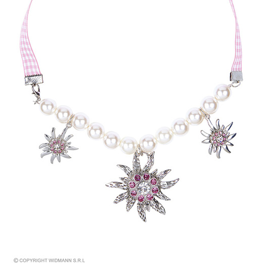 edelweiss parel ketting