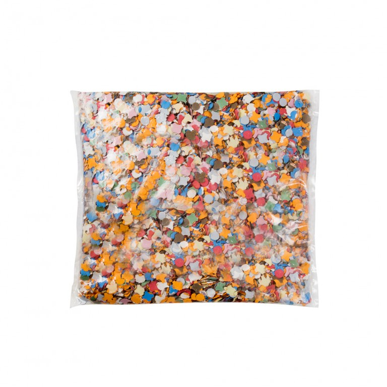 Confetti bonte kleuren 100 gram