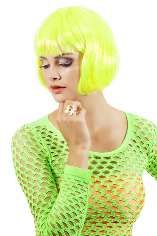 Bobline basic neon-geel