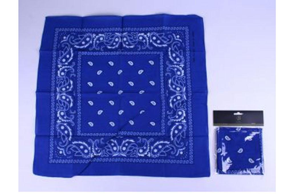Boeren zakdoek blauw