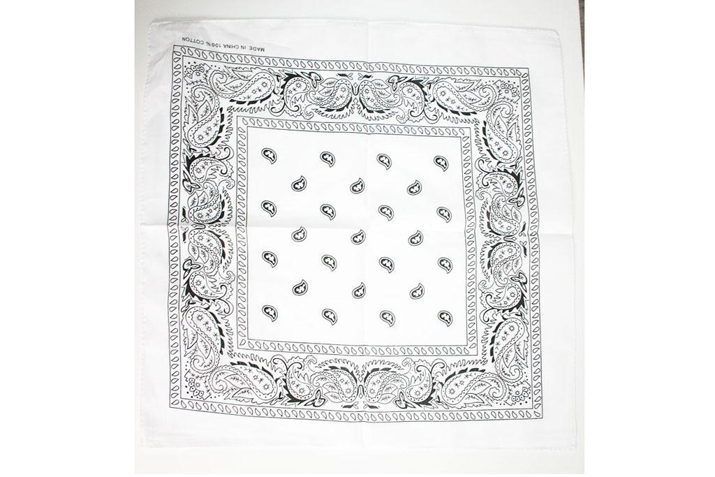 Boeren zakdoek wit