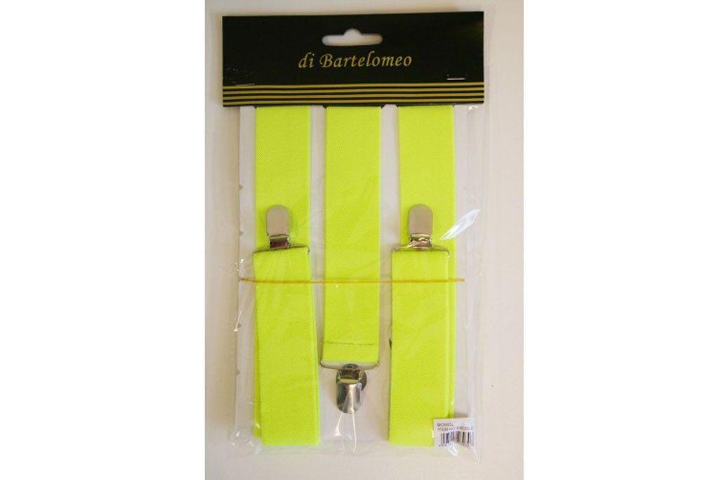 bretels neon-geel