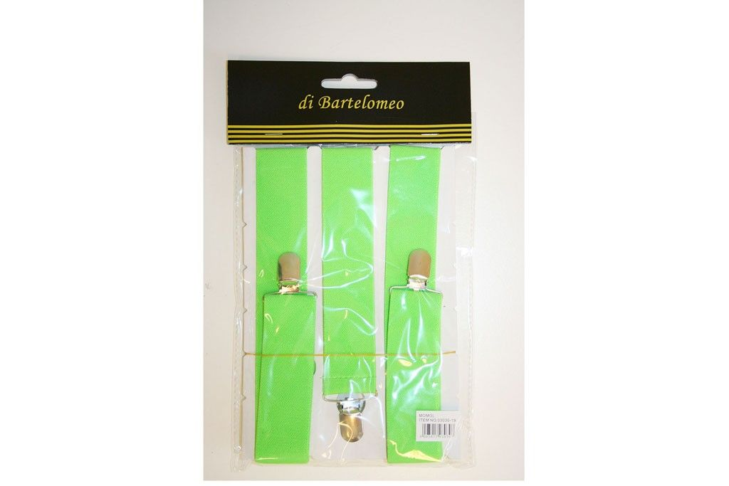 bretels neon-groen