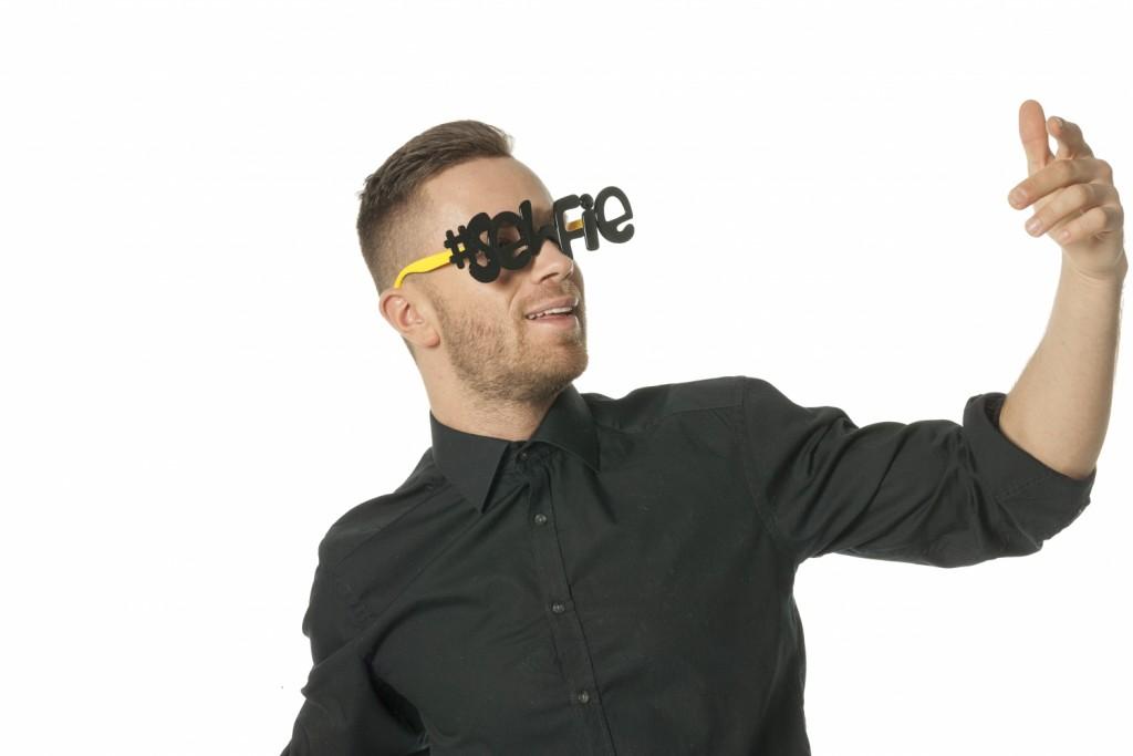 Bril selfie