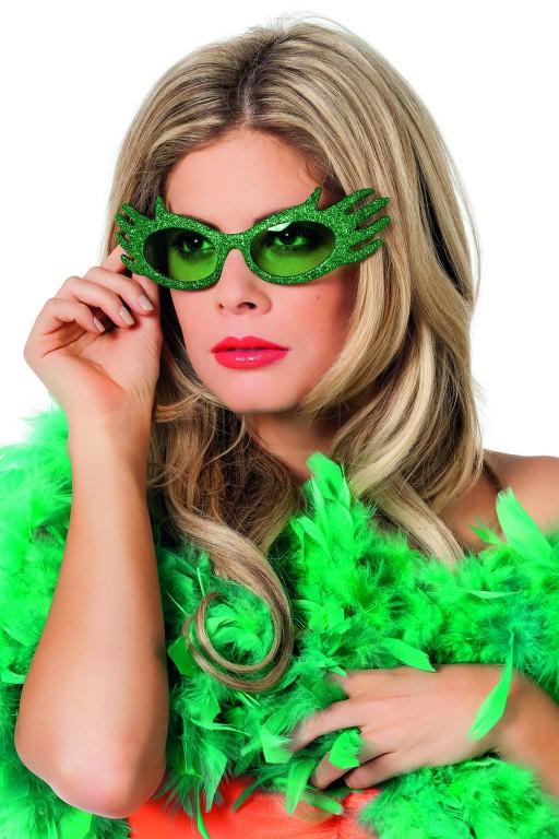 Bril dame edna groen