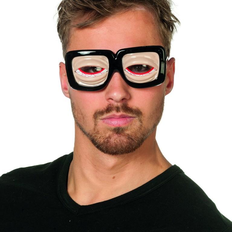 Bril gekke ogen naturel
