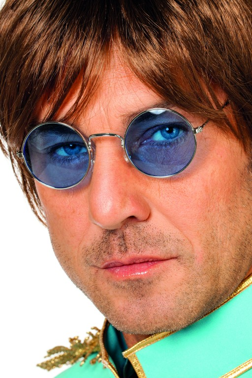 Bril John Lennon blauw