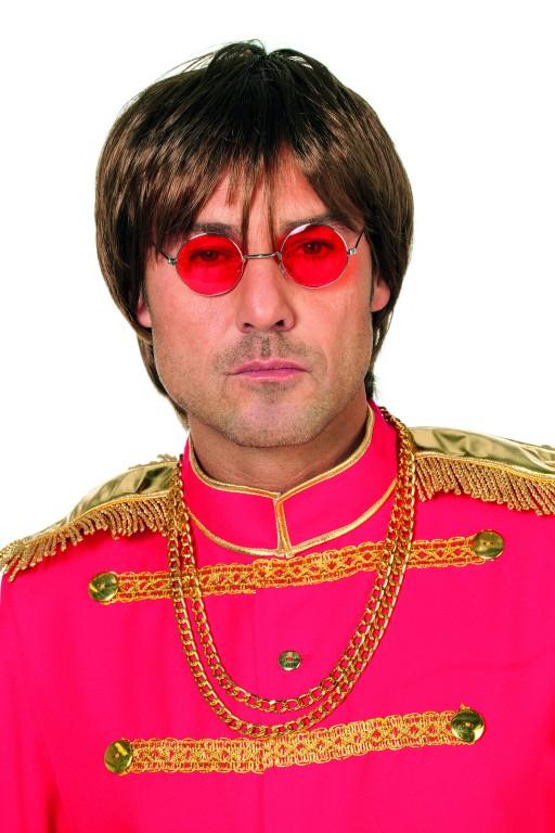 Bril John Lennon rood