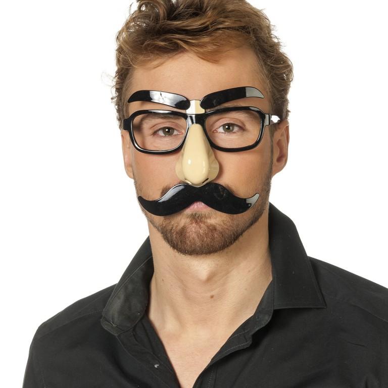Bril met gezicht