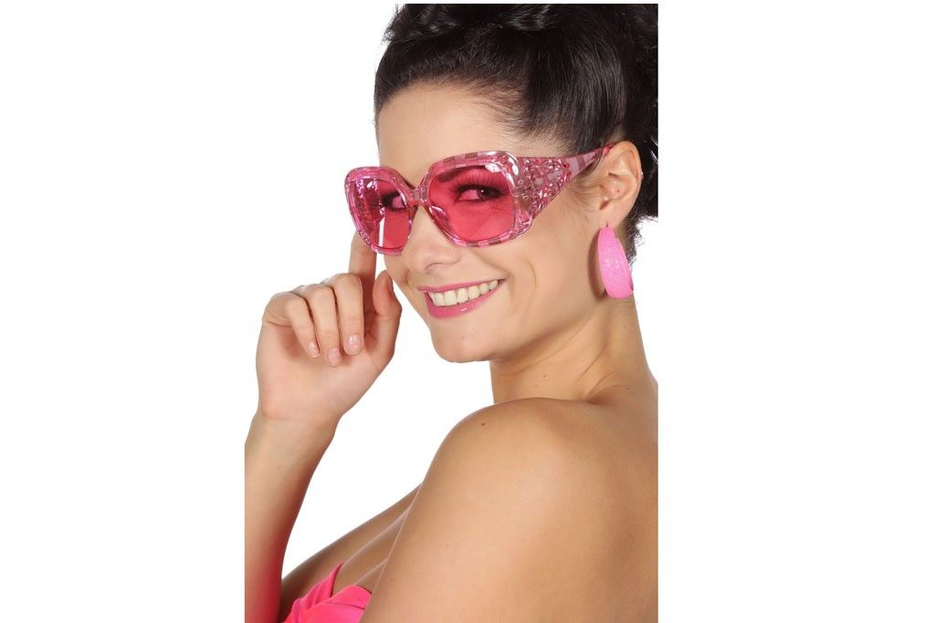 Bril Glamour Roze