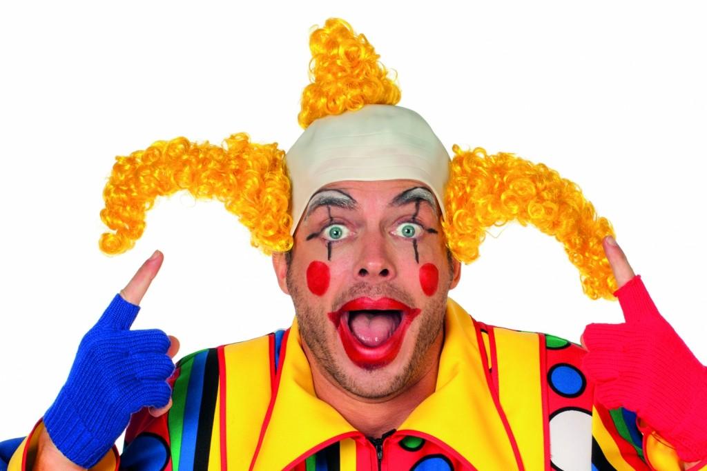 clown coco geel
