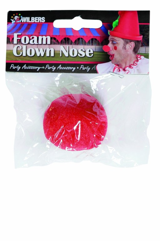 Clownsneus foam in polybag