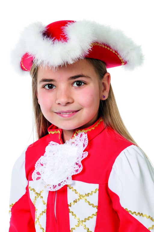 Dansmarieke kind rood
