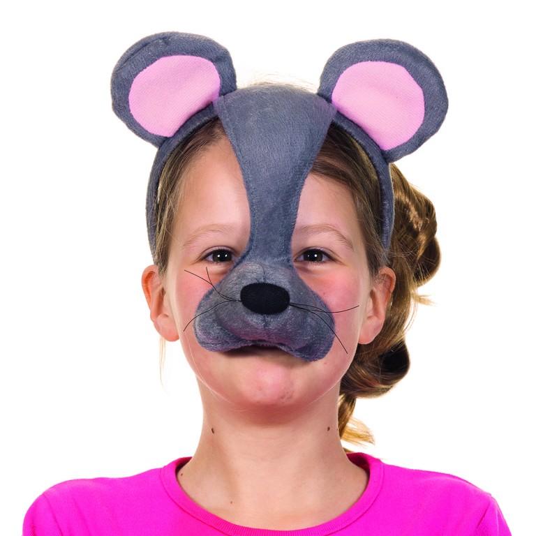Dierenmasker met geluid muis