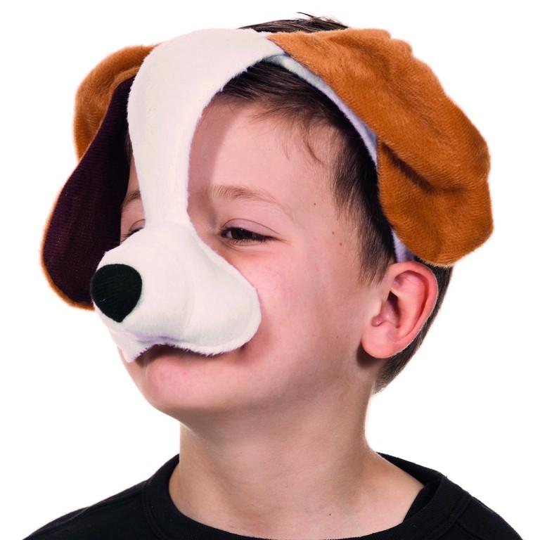 Dierenmasker met geluid hond
