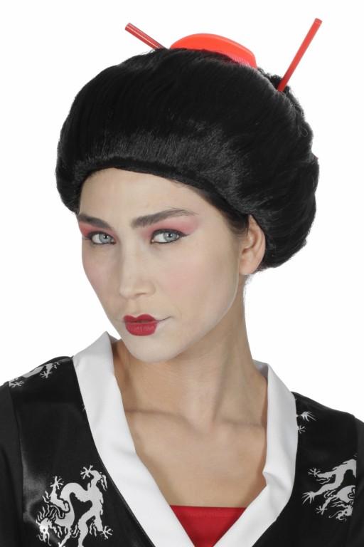 Geisha pruik