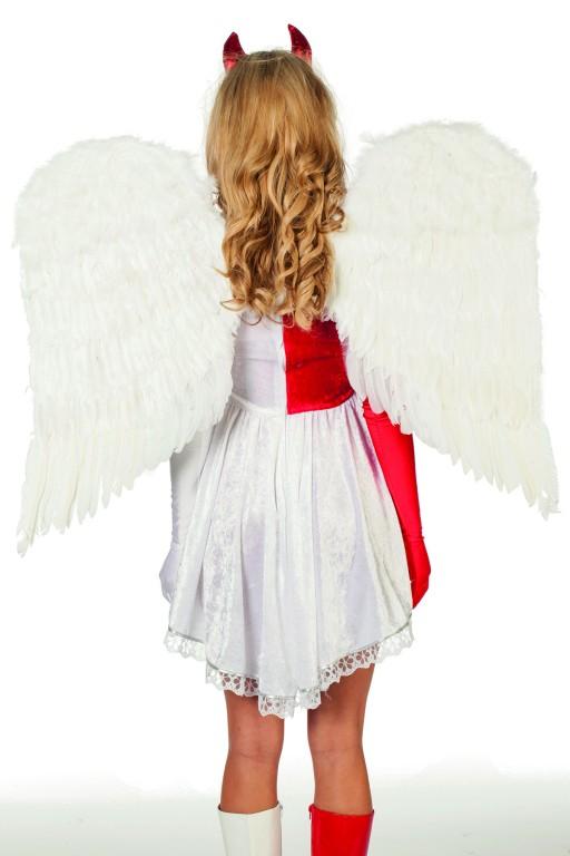 Grote veder vleugels
