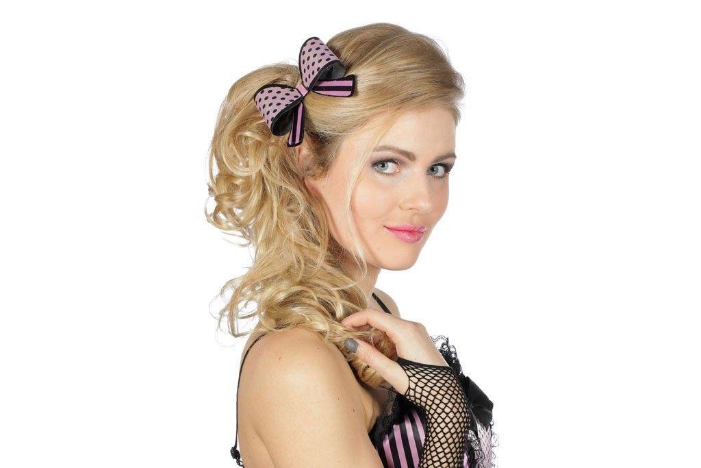 Haarspeld Strik Roze