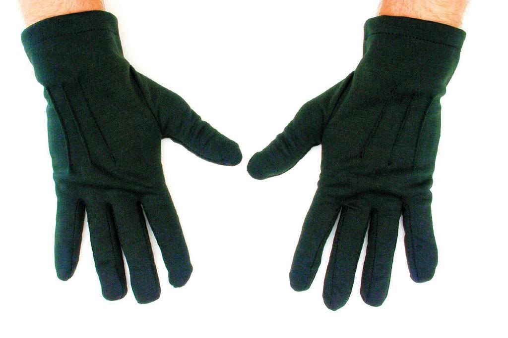 handschoenen kort zwart heren