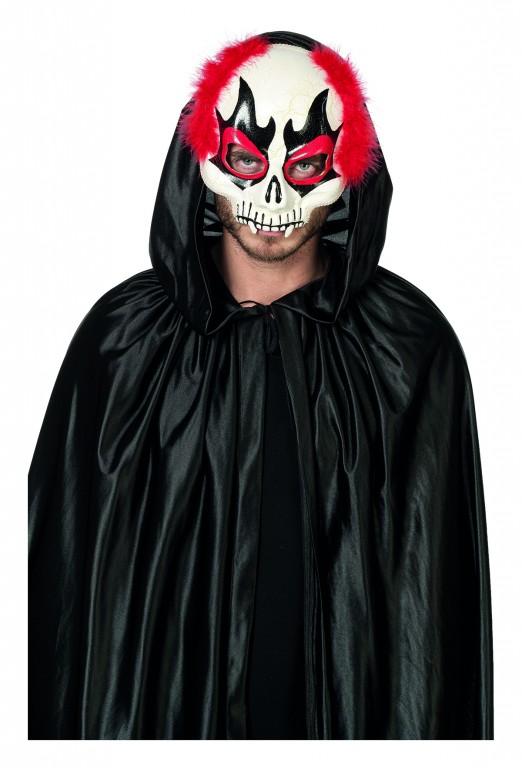 Clowns masker met haar en diadeem