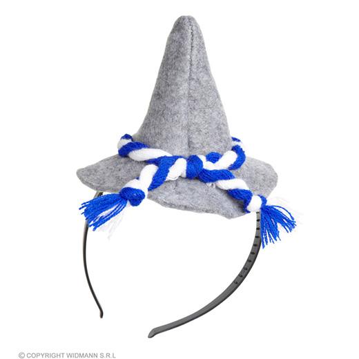 hoofdband met mini beierse hoed