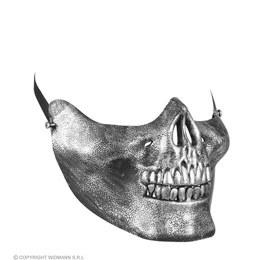 kinmasker schedel metalic