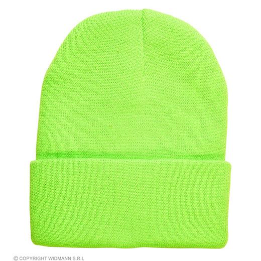 beanie neon groen