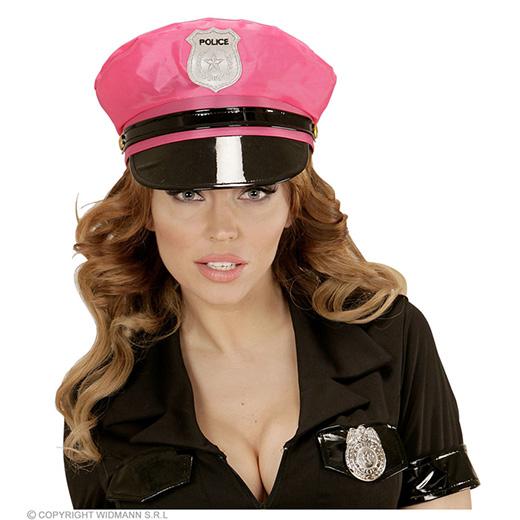 politiepet neon rose