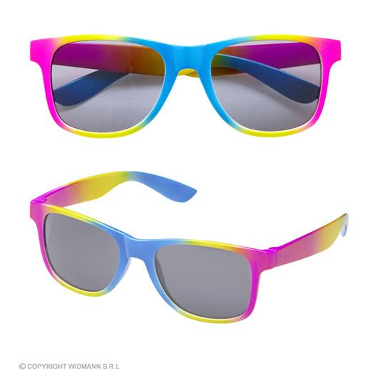 bril, regenboog