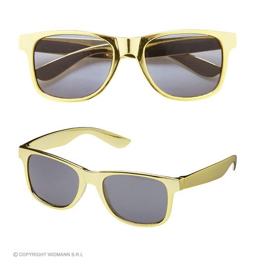 bril, goud