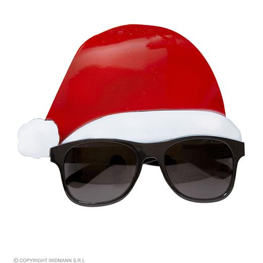 bril, kerstman