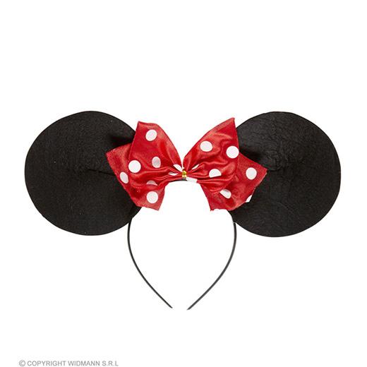 hoofdband muis met strikje