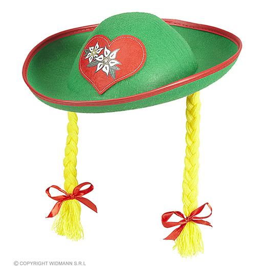 tiroolse hoed met staartjes