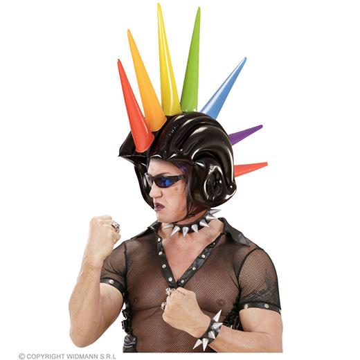 obplaasbare meerkleurige helm