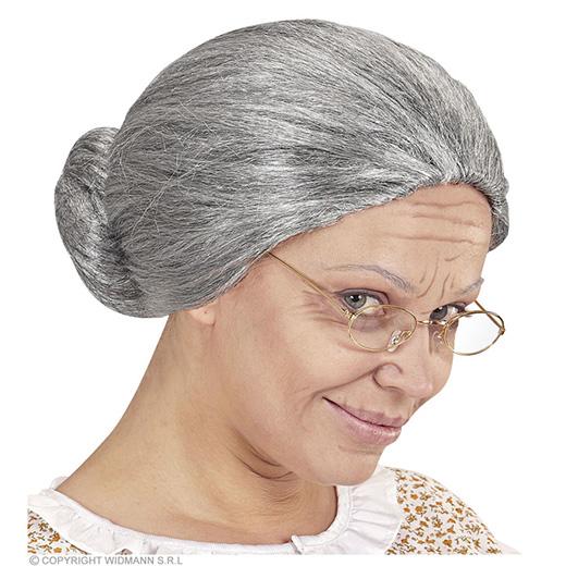 pruik, grootmoeder