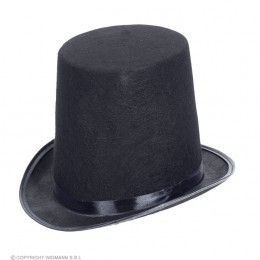 extra hoge hoed vilt, 20cm