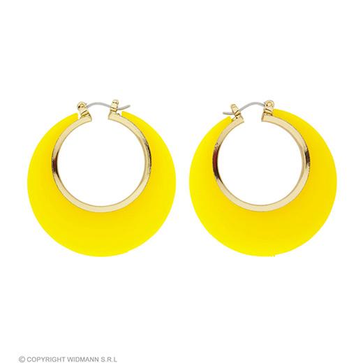 oorbellen disco geel/goud