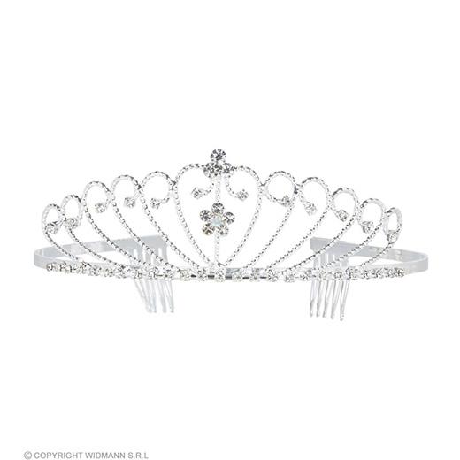 tiara zilver strass
