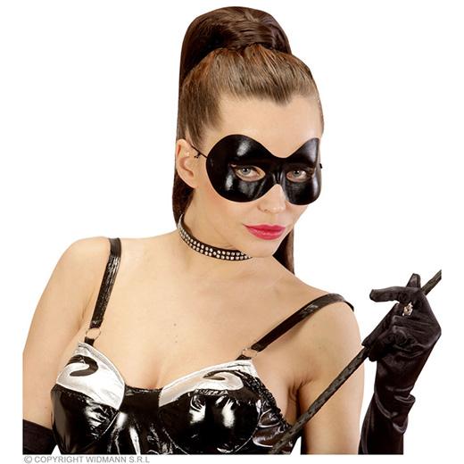 oogmasker zwart fidelio/s&m