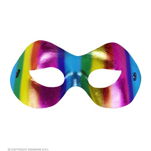 oogmasker fidelio regenboog metalic