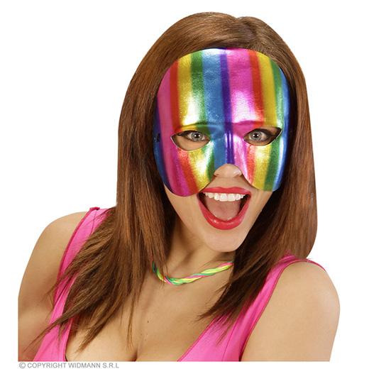 oogmasker regenboog kinloos metalic