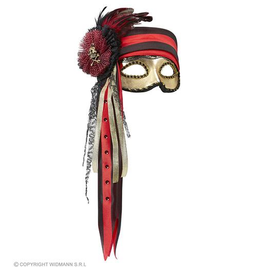 luxe piraten oogmasker