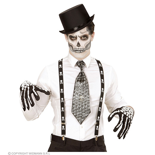 bretels schedels en botten