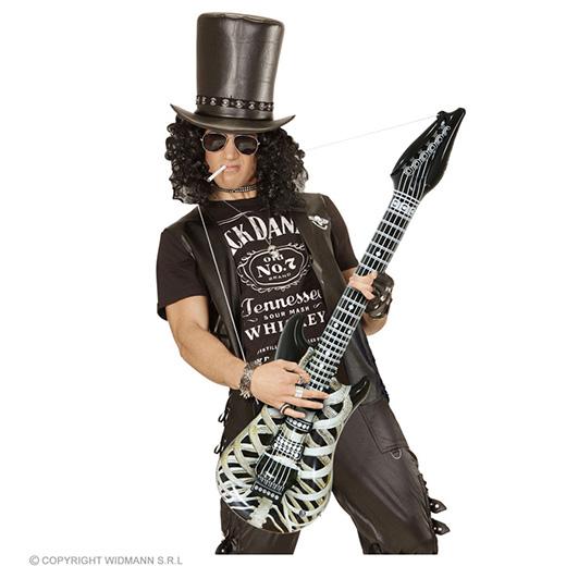 opblaasbare gitaar, skelet