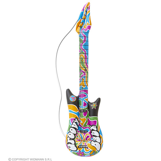 opblaasbare gitaar, groovy, 105cm