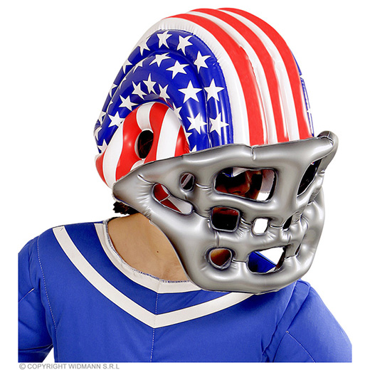 american football helm opblaasbaar usa (kind)