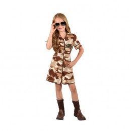Leger jurkje camouflage desert